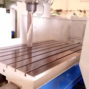 Used Mighty Comet HB-120 CNC Vertical Bridge Mill a