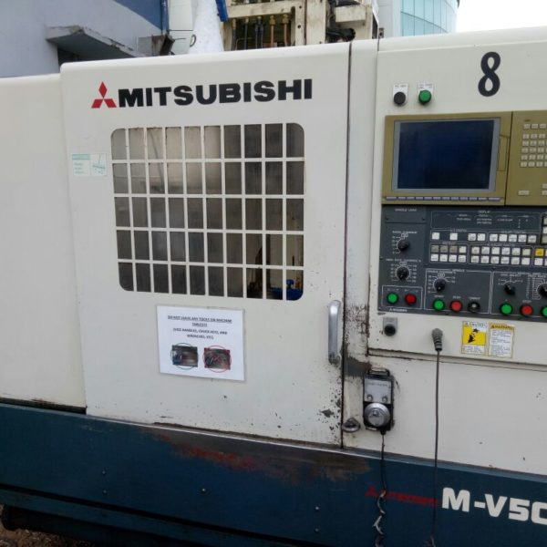 Used Mitsubishi Vertical Machining Center India Main